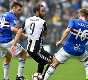 Serie A/Sampdoria-Juventus